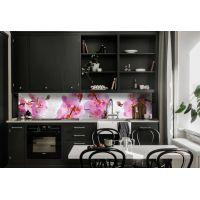 Наклейка Кухонний фартух 65х250 см Орхідея Сакраменто