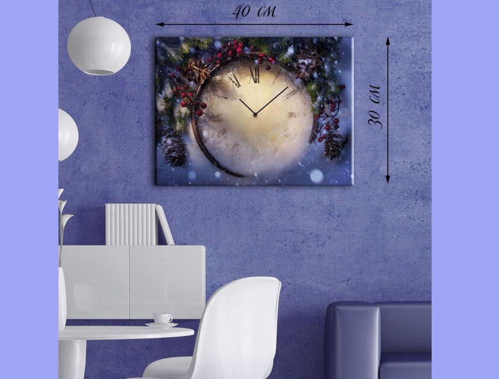 Обзор товара - Картина-часы Бой курантов