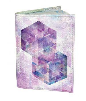 Обложка для паспорта DevayS Maker DM 0202 Ромбы разноцветная (01-0202-436)