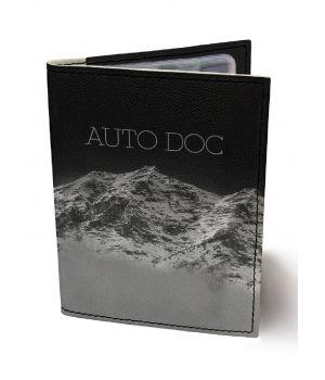 Обложка для автодокументов DevayS Maker DM 0202 Горная даль черная (02-0202-468)