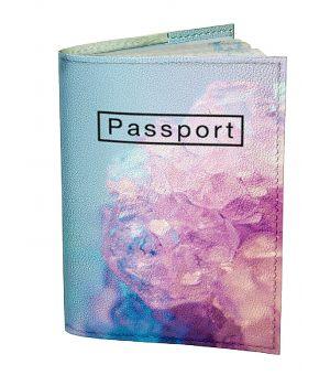 Обложка для паспорта DevayS Maker DM 0202 Кристалл разноцветная (01-0202-464)