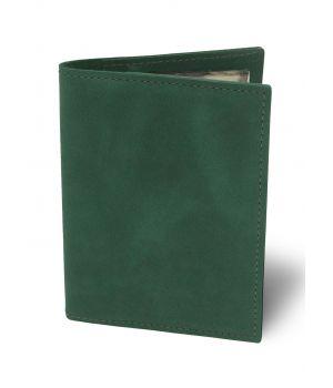Обложка для автодокументов BermuD Чистая М01 зеленая (B 02-18Z-01-1)