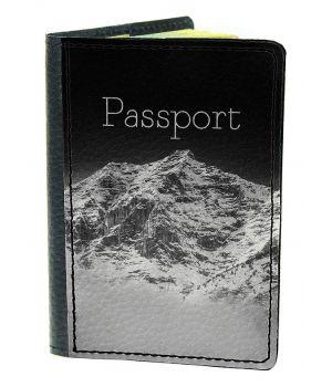 Обложка для паспорта DevayS Maker DM 03 Горная даль черная (01-0103-468)