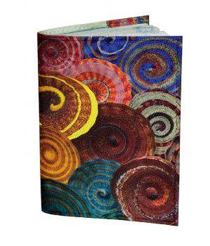 Обложка для паспорта DevayS Maker DM 0202 Спирали разноцветная (01-0202-457)