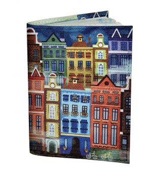 Обложка для паспорта DevayS Maker DM 0202 Голландия разноцветная (01-0202-430)