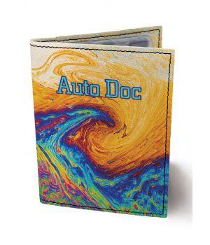 Обложка для автодокументов DevayS Maker DM 0202 Краски разноцветная (02-0202-460)