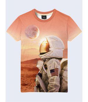 Футболка Людина на Марсі