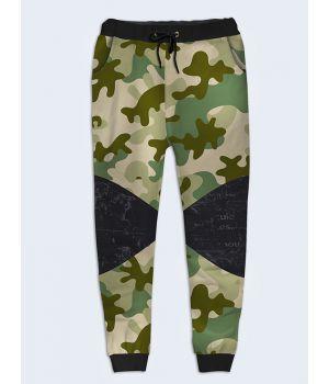 Модные женские брюки Камуфляж