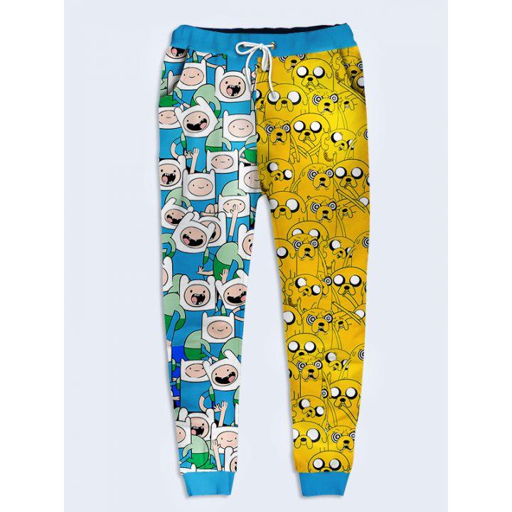 Модные женские брюки Джейк и Финн