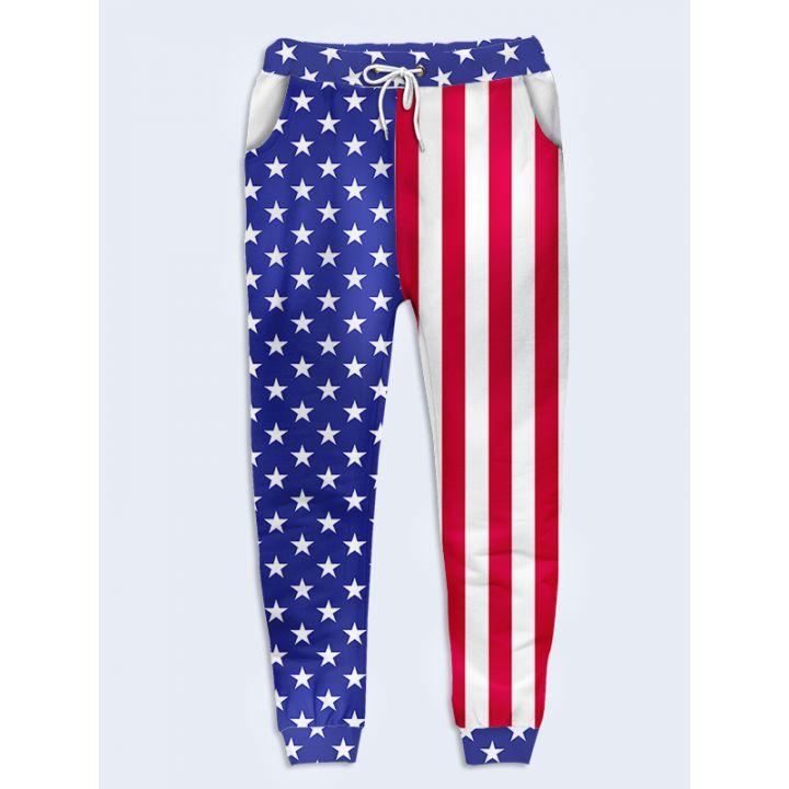 Жіночі штани Прапор США