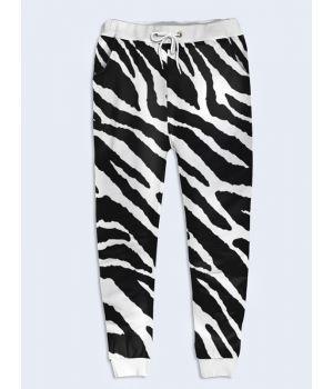 Модные женские брюки Зебра