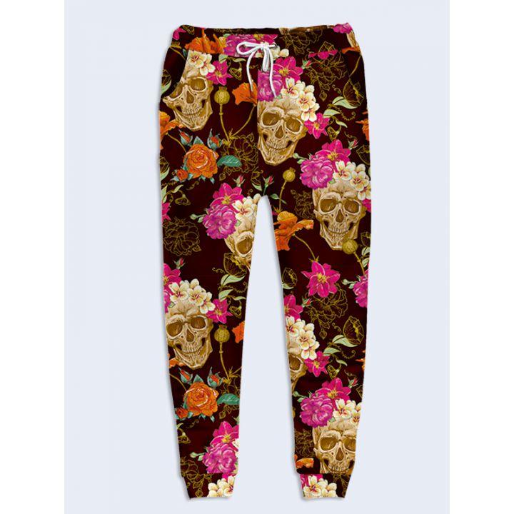 Жіночі штани Черепа в кольорах