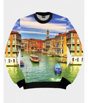 Свитшот IdeaX Венеция, размер М