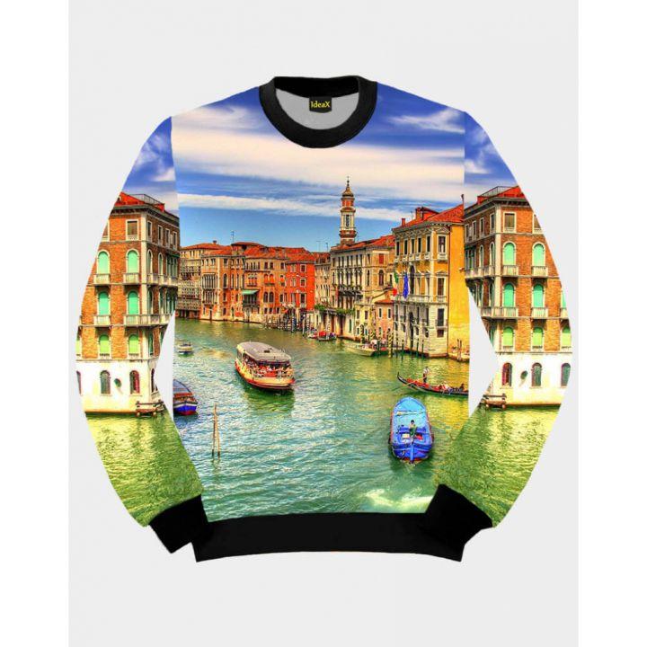 3D Світшот IdeaX Чарівна Венеція