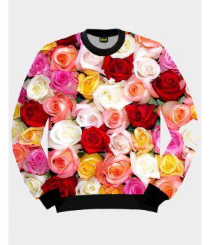 Свитшот IdeaX Роскошные Розы
