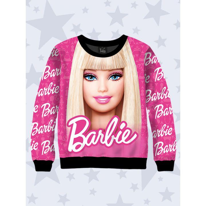 3D Детский свитшот Barbie