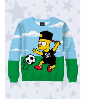 Детский свитшот Footballer Bart
