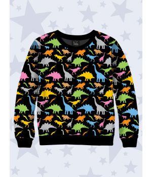 Дитячий світшот Динозаврики