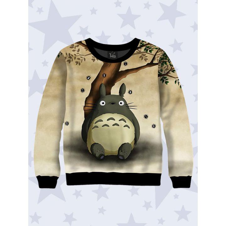 3D Детский cвитшот Funny Totoro
