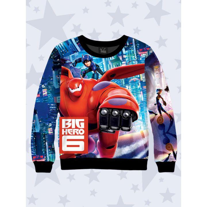 3D Детский свитшот Big Hero 6