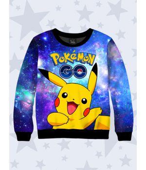 Детский свитшот Pocemon Go Pikachu