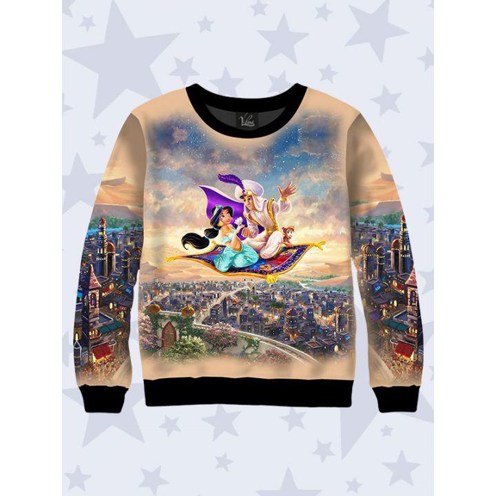 3D Детский свитшот Aladdin