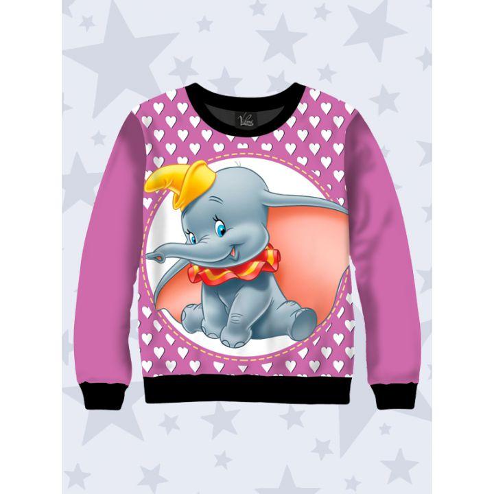3D Детский cвитшот Dumbo