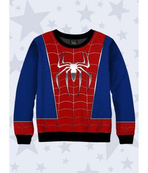 Детский cвитшот Человек-паук логотип