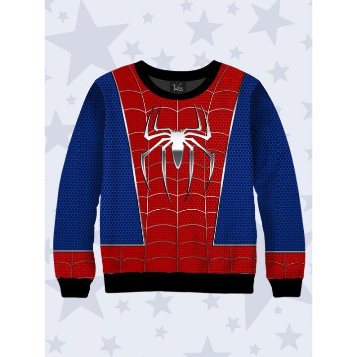 3D Детский cвитшот Человек-паук логотип
