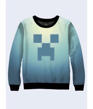 Мужской свитшот Minecraft emblem