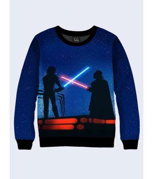 Женский cвитшот Star Wars fight