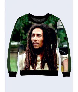 Женский cвитшот Bob Marley