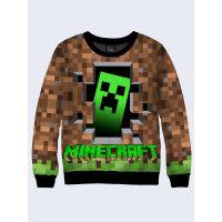 Мужской cвитшот Minecraft PC game