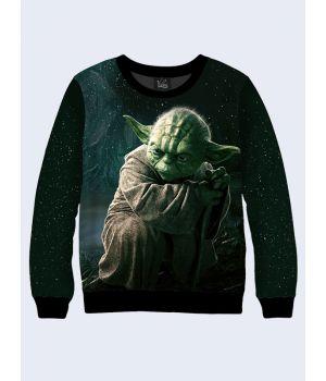 Мужской свитшот Master Yoda