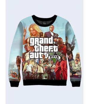 Женский cвитшот Game GTA 5