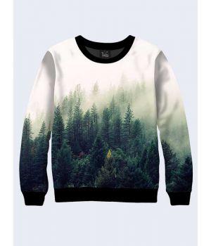 Чоловічий світшот Ліс в імлі
