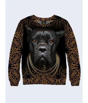 Свитшот Чёрная собака