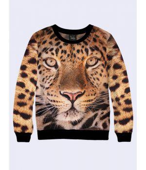 Мужской свитшот Морда гепарда