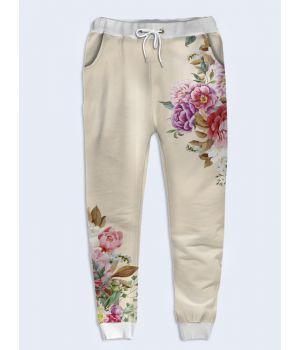 Женские брюки Разнотравье