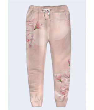Женские брюки Лепестки цветов