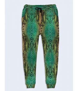 Женские брюки Змеиная кожа