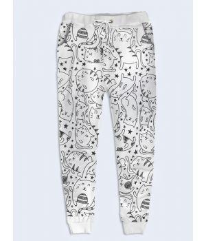 Женские брюки Милые котики