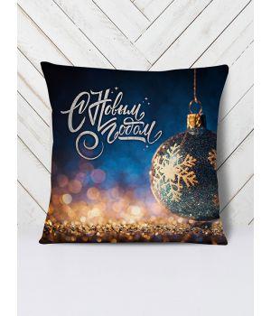 Подушка Новый год шар