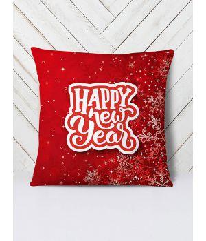 Подушка New Year red
