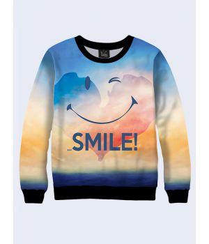Женский свитшот Your smile