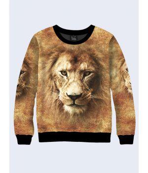 Чоловічий світшот Фото левів