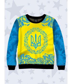 Детский свитшот Український тризуб