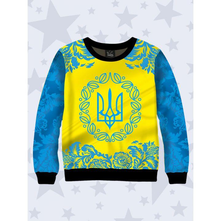 Дитячий світшот Український тризуб