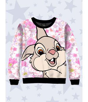 Детский свитшот Веселый кролик