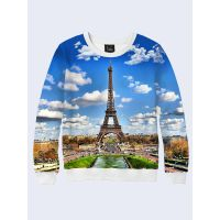 Свитшот женский Символ Парижа